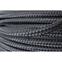 Linha gacheta de nylon preta de 6 m/m