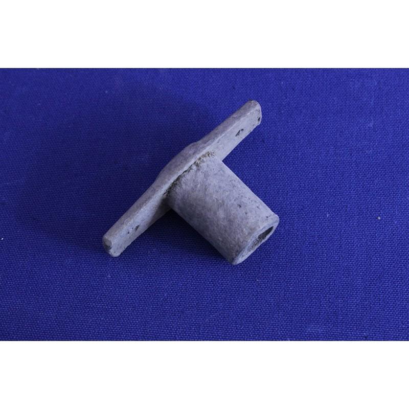 Chumaceiras/suportes zincados pª forquetas nº 2